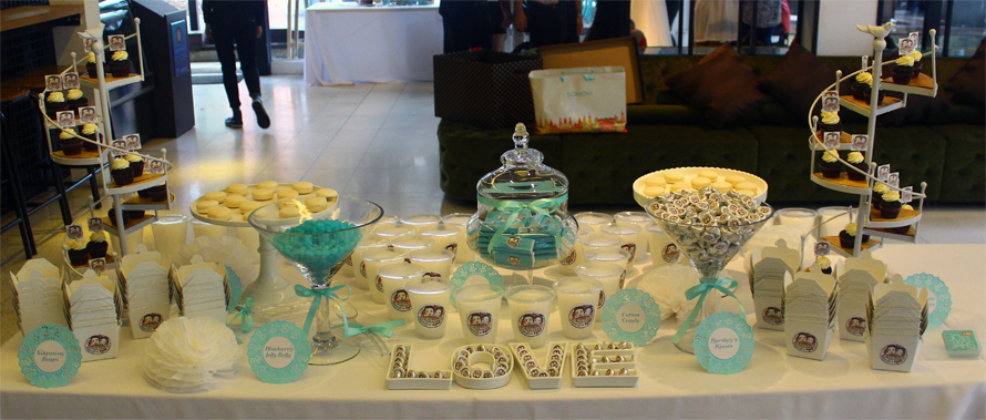 JOandJARS_CandyBuffet_WeddingLunch_Skyve_TiffanyBlue_White
