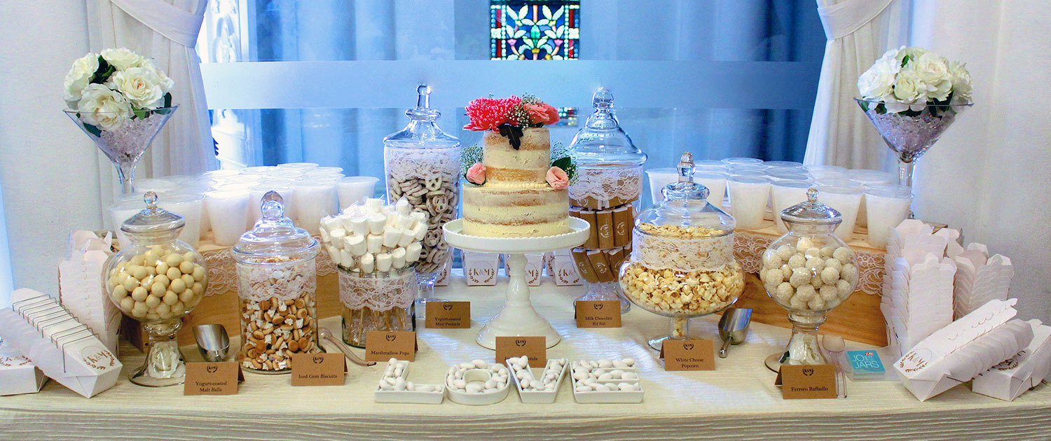 Wedding candy buffet singapore joandjars your candy company previousnext junglespirit Image collections